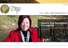 Website for Mind by Design